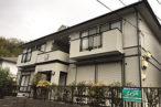 桑名市アパートの塗り替え進捗状況