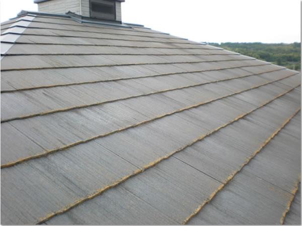 屋根劣化イメージ