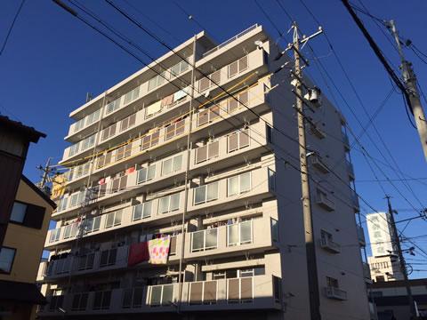 桑名市のマンション 塗り替え前