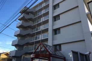 桑名市マンション 塗り替え工事完了!
