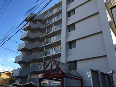 桑名市のマンション 塗替え後